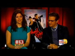 Coffee With: Jeremy Renner & Gemma Arterton